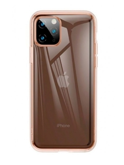 Чехол Baseus Safety Airbags Case For iPhone 11 Pro 5.8inch (2019) Transparent Gold BASEUS