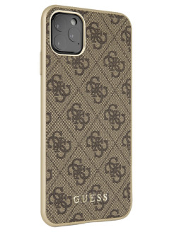 Guess Case for iPhone 11 Pro Max 4G collection Hard Brown GUESS