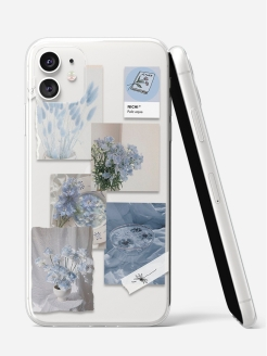 Case for phone, silicone, shockproof SCDesign
