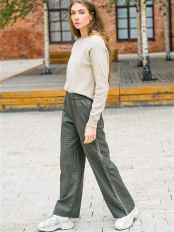 Wool trousers Yadviga Locika
