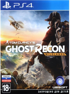 Tom Clancy's Ghost Recon: Wildlands [PS4, русская версия] Ubisoft